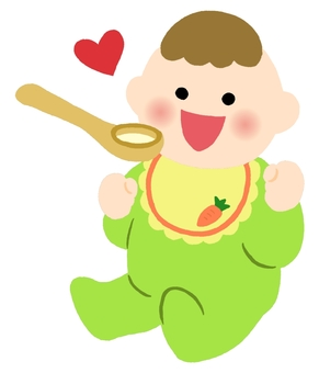 Baby baby food color 2