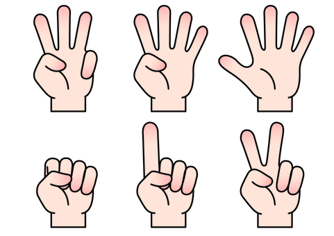 Hand finger icon 5