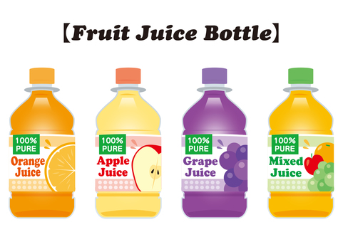 Fruit Juice Bottle