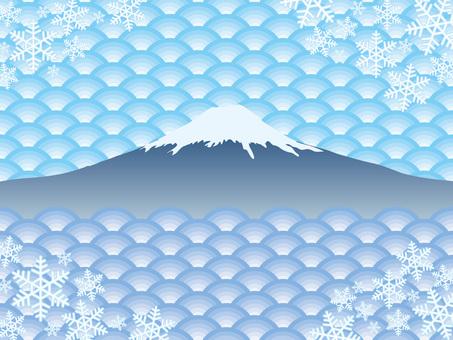 Pattern (47) Winter snowflake