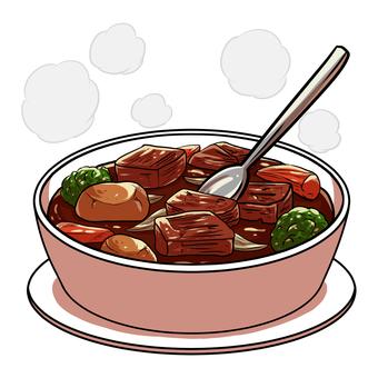 Hot string Beef stew