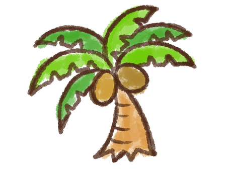 Crayon series [palm tree]