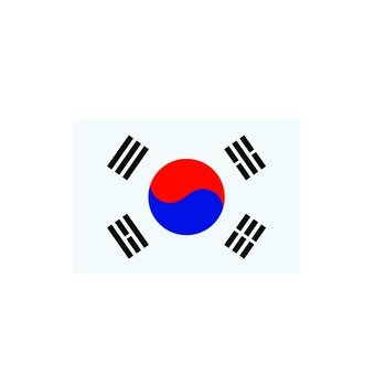 Korean flag 1