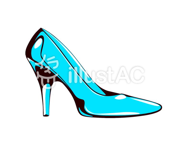 ガラスの靴イラスト , No 626398/無料イラストなら「イラストAC」