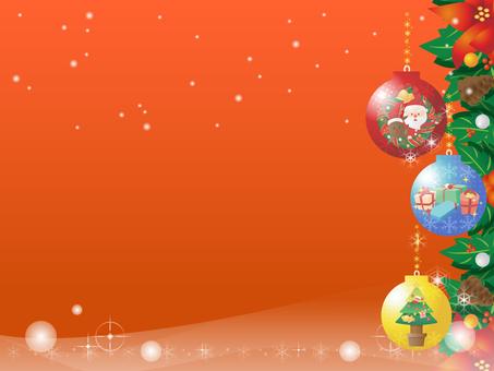 Christmas Ornament Border Frame 3