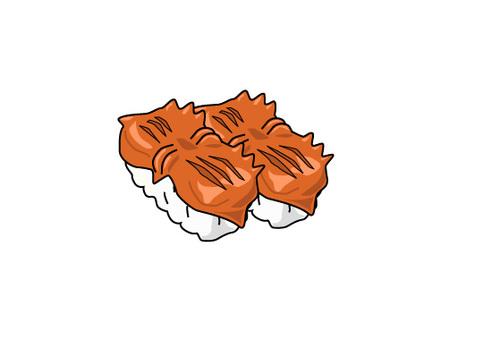 Sushi shellfish