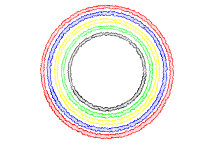 Five-colored ring