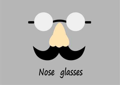 Nose glasses