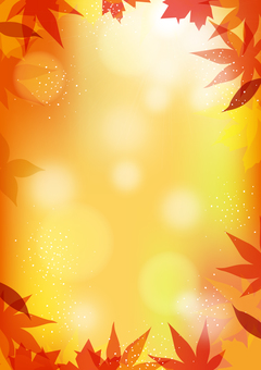 Autumn leaves background height 01