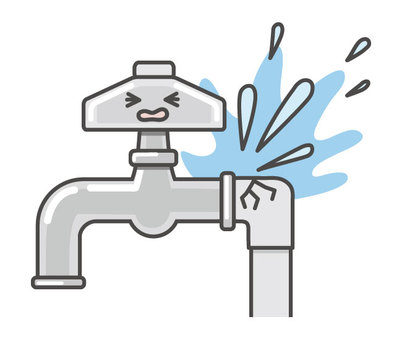 Facial faucet (water leak)