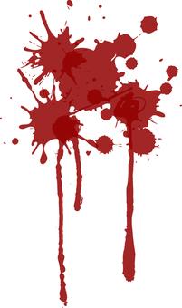 血糊のワンポイントイラスト