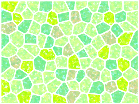 Mosaic tile (green)