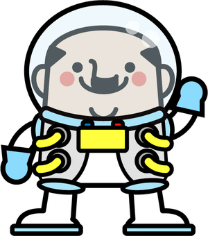 Uncle fairy astronaut
