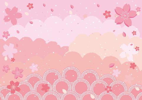 Sakura Fubuki Pink