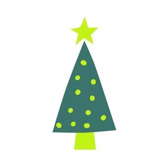 Scandinavian trees (green, Christmas tree)