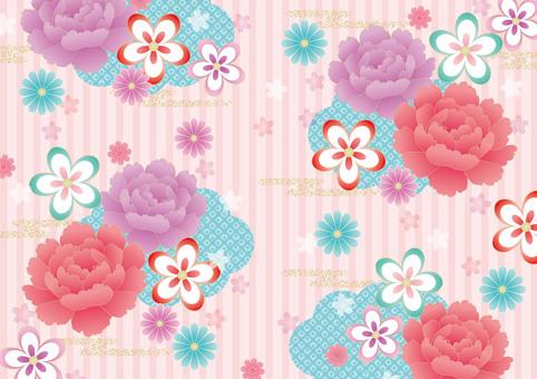 Girly Japanese pattern