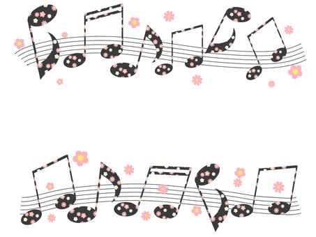 꽃 무늬 노트 01