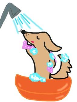 Dog's bath