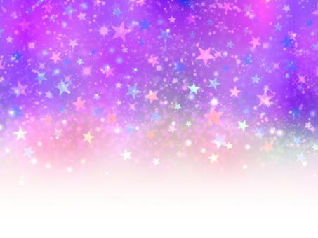 화려한 밤하늘 배경 그라데이션 퍼플