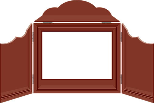 Picture-story house frame frame Retro Showa culture
