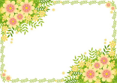 장식 예쁜 노란 꽃다발 7