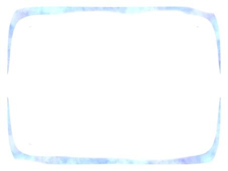 Light blue and purple frame