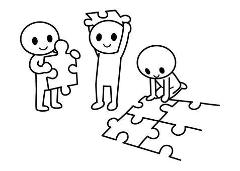 Stickman - Puzzle