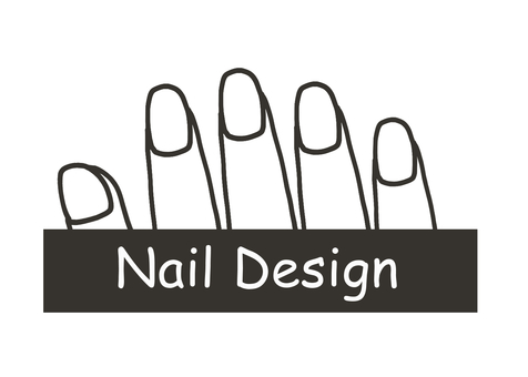 Nail design plain sheet