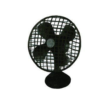 Hand-drawn style fan