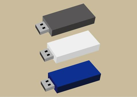USB memory card
