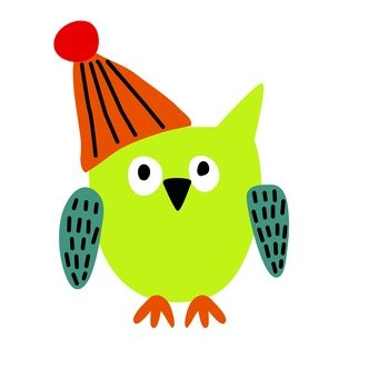 Green owl 2