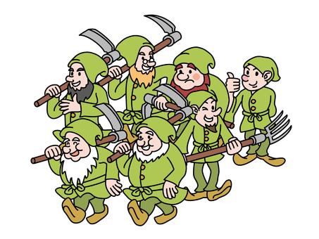 Snow White 3 (Seven Dwarfs)