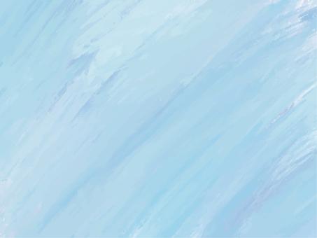 ペイント背景ブルー