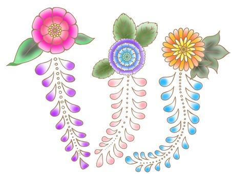 츠지가 꽃