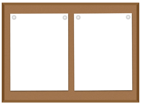 Cork board (simple)