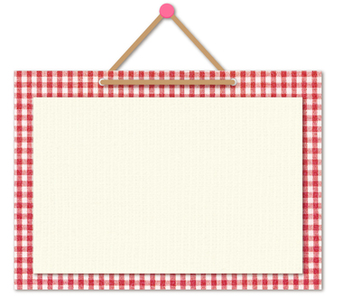 Message Board Gingham