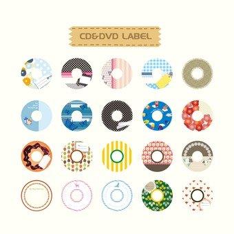 CD & DVD 라벨