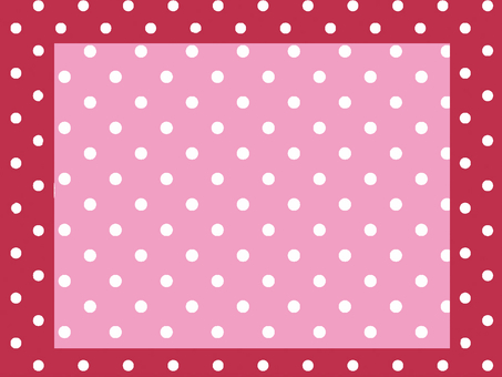 Red and pink polka dots
