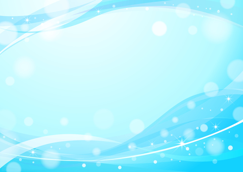 Wind and light background image Blue