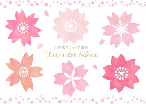 Sakura Swatch