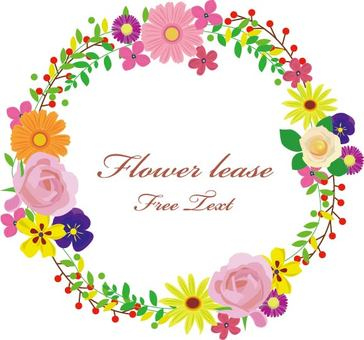 Flower frame lease