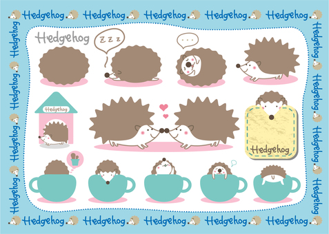 Hedgehog 2 (set)