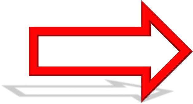 Arrow (blank) Shadow ②