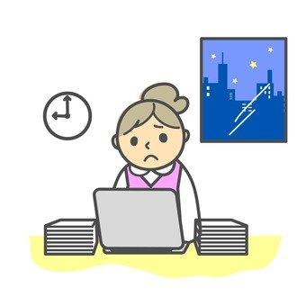 Overtime worker OL