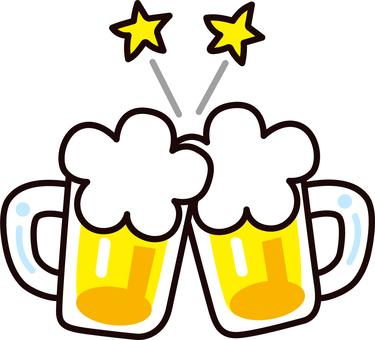 Toast _ beer mug
