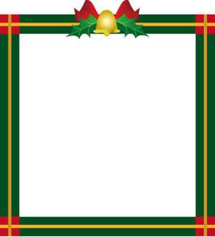Cute Christmas frame
