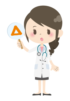 Female doctor * Answer · comment 02