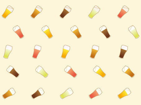 Colorful craft beer background
