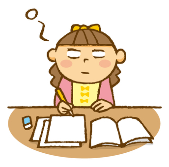 Child (When trying to study bo ... ~)