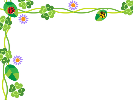 Background - Clover and Ladybird 03